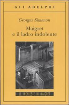 Radiospeed.it Maigret e il ladro indolente Image