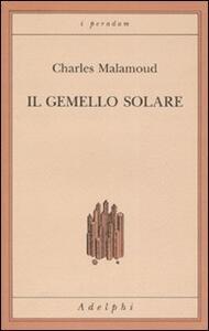 Il gemello solare - Charles Malamoud - copertina
