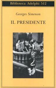 Il presidente - Georges Simenon - copertina
