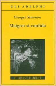 Maigret si confida - Georges Simenon - copertina