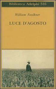Luce d'agosto - William Faulkner - copertina