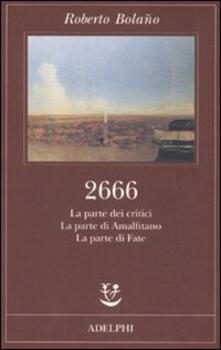 Squillogame.it 2666. La parte dei critici-La parte di Amalfitano-La parte di Fate Image