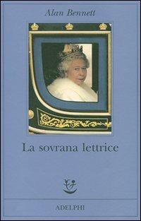 copertina del libro di Alan Bennett, La sovrana lettrica