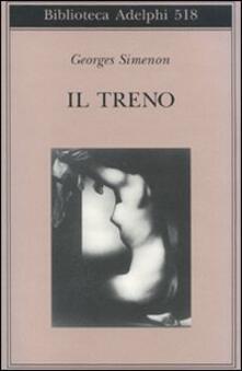Il treno - Georges Simenon - copertina