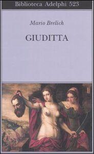Libro Giuditta Mario Brelich