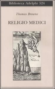 Religio medici - Thomas Browne - copertina