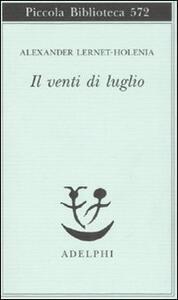 Il venti di luglio - Alexander Lernet-Holenia - copertina