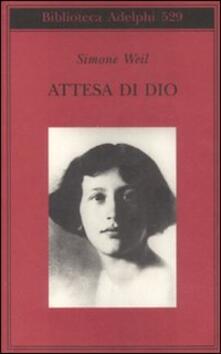 Attesa di Dio - Simone Weil - copertina