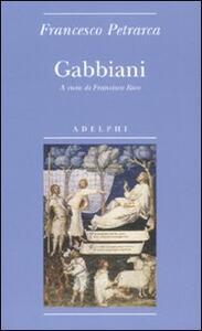 Gabbiani - Francesco Petrarca - copertina
