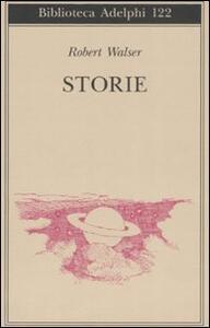 Storie - Robert Walser - copertina