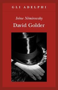 David Golder - Irène Némirovsky - copertina