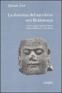 Libro La dottrina del sacrificio nei brahmana Sylvain Lévi