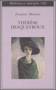 Libro Thérèse Desqueyroux François Mauriac