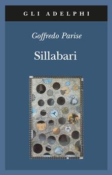 Sillabari - Goffredo Parise - copertina