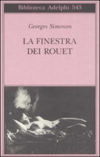La finestra dei Rouet - Georges Simenon - copertina