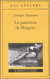 La pazienza di Maigret - Georges Simenon - copertina