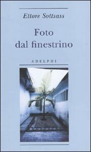 Foto dal finestrino - Ettore Sottsass - copertina
