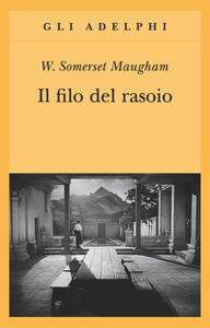Il filo del rasoio - W. Somerset Maugham - copertina