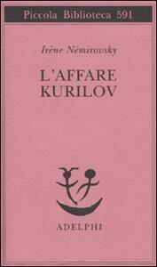L' affare Kurilov - Irène Némirovsky - copertina