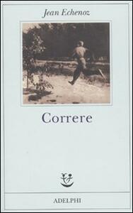 Correre - Jean Echenoz - copertina