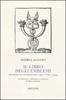 Osteriacasadimare.it Il libro degli emblemi. Secondo le edizioni del 1531 e del 1534 Image