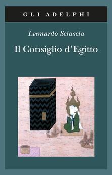Il consiglio d'Egitto - Leonardo Sciascia - copertina