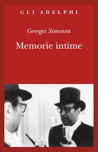 Memorie intime, seguite dal libro di Marie-Jo - Georges Simenon - copertina