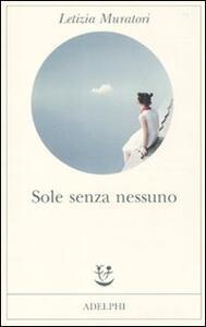 Sole senza nessuno - Letizia Muratori - copertina