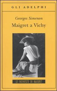 Maigret a Vichy - Georges Simenon - copertina