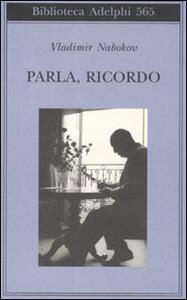 Parla, ricordo - Vladimir Nabokov - copertina
