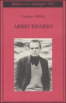Abbecedario - Czeslaw Milosz - copertina