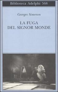 La fuga del signor Monde - Georges Simenon - copertina