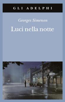 Luci nella notte - Georges Simenon - copertina