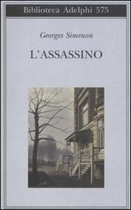 L' assassino - Georges Simenon - copertina