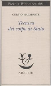 Tecnica del colpo di Stato - Curzio Malaparte - copertina