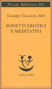 Sonetti erotici e meditativi - Gioachino Belli - copertina