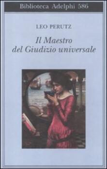 Il maestro del Giudizio universale - Leo Perutz - copertina