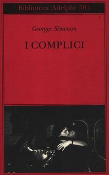 I complici - Georges Simenon - copertina