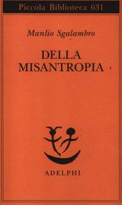 Libro Della misantropia Manlio Sgalambro