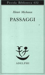 Passaggi - Henri Michaux - copertina