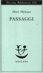 Libro Passaggi Henri Michaux