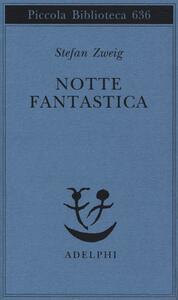 Notte fantastica - Stefan Zweig - copertina