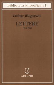 Lettere 1911-1951 - Ludwig Wittgenstein - copertina