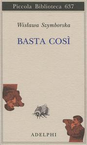 Libro Basta così Wislawa Szymborska