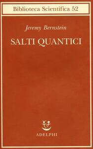 Salti quantici - Jeremy Bernstein - copertina