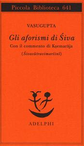 Gli aforismi di Siva - Vasugupta - copertina