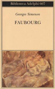 Libro Faubourg Georges Simenon