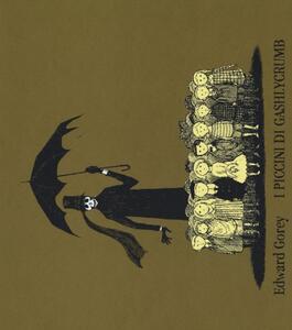 I piccini di Gashlycrumb - Edward Gorey - copertina