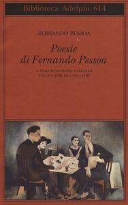 Libro Poesie. Testo portoghese a fronte Fernando Pessoa