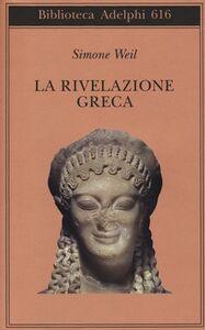 Libro La rivelazione greca Simone Weil